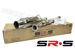 Jdm Srs Catback Exhaust System 02-07 Wrx Wagon 03 04 Rs Non Turbo