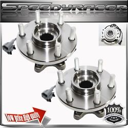 Wheel Hub Bearing Front For 05-13 Nissan Frontier 4wd 1pair