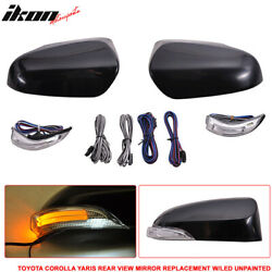 Fits 14-16 Toyota Corolla Side Mirror Outer Shell Replacement & CCFL