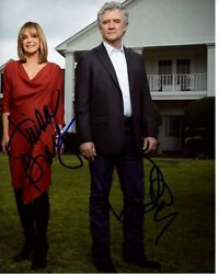 Patrick Duffy And Linda Gray Signed Autographed Dallas The Ewings Photo