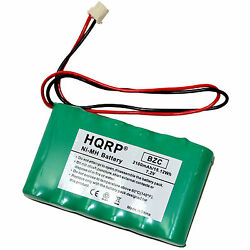Hqrp Battery For Ademco Honeywell Lynx Plus Touch L3000 L5000 L5100 L5200