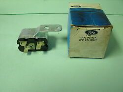 Nos 1974 Ford Lincoln Mercury Speed Cruise Control Relay And Bracket