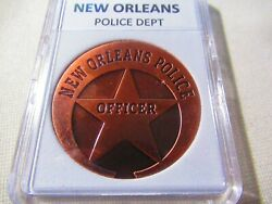 City Of New Orleans Police Dept. Copper Challenge Coin