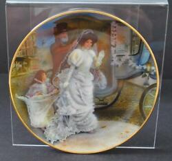 Vintage Jacqueline Rob Sauber Second Issue Made Usa 1986 Wall Decor Plate 9 1/4