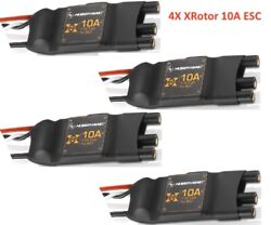 Hobbywing 30901003 Xrotor-10a Multi Rotor Esc 4 Pack For 250 Class Quadcopters