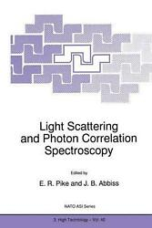 Light Scattering And Photon Correlation Spectroscopy English Paperback Book Fr