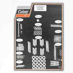 Colony 8325 Cad Complete Stock Hardware Kit - 1954 - 1956 K Model - Cad Plated
