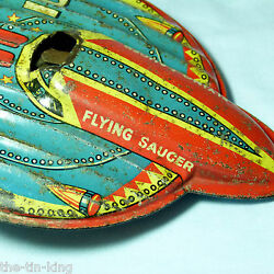 rare c1940s 50s space ufo flying saucer