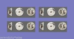 144 Replacement CLUTCH BACKS for Tie Tacks Pins Silver Pinch Clutches 1 gr $10.29