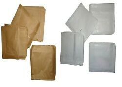 Brown Kraft White Sulphite Strung Paper Bags Food Use All Sizes And Quantities
