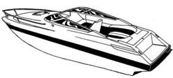 7oz STYLED TO FIT BOAT COVER GALAXIE 248 SPORT EXPRESS IO 1990