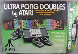 atari ultra pong doubles game ex condition