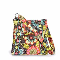 Vera Bradley Large Hipster Crossbody Bag Authentic Nwt Some Retired And Sold/o