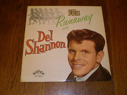 Del Shannon LP Runaway With STEREO BIG TOP