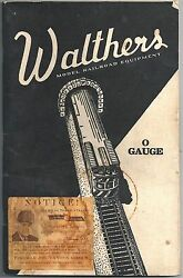 Walthers Model Railroad Equipment O Gauge Catalog No 9 1941 – Illustrated