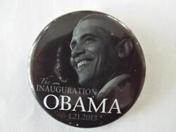 Rare Official Barack Obama The 2nd Inauguration 2013 Pinback Button 2.25 In