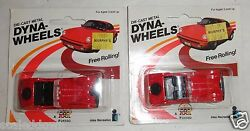 lot of 2 die cast vauxhalls dyna wheels