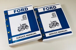 Ford Tw-5 Tw-15 Tw-25 Tw-35 Tractor Service Repair Shop Manual Technical New Oem