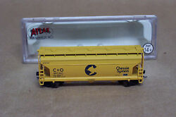atlas n scale c o covered hopper