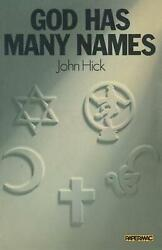God Has Many Names Britain's New Religious Pluralism By John Hick English Pap