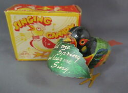new nos singing canary in box alps
