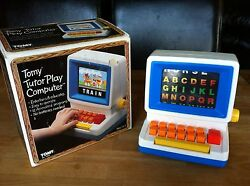 tomy tutor play computer 1984 toy boxed