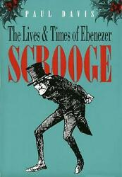 The Lives And Times Of Ebenezer Scrooge By Paul Davis English Hardcover Book F