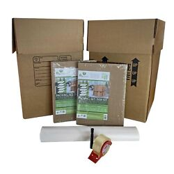 Uboxes Kitchen Packing Boxes And Supplies Kit 2 - 2 Kitchen Boxes And Partitions