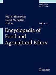 Encyclopedia Of Food And Agricultural Ethics English Hardcover Book Free Shipp