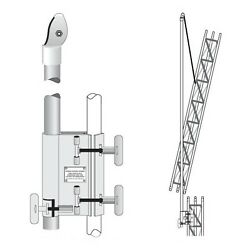 Rohn Ef2545 Tower Erection Fixture System Gin Pole Assembly For 25g 45g Tower
