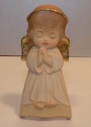 New Hanging Guardian Angel - White- 10207-w , Wood Figurine From Lepi, Italy