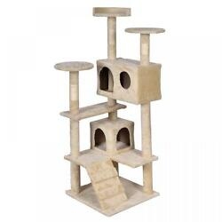 BestPet Cat Tree Tower Condo Furniture Scratch Post Kitty Pet House New T52