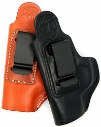 Cebeci Leather OWB CLIP-ON HOLSTER w Comfort Tab For... Choose Gun