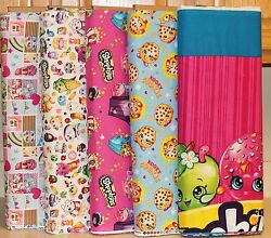 Shopkins Moose Cookie Look Fabrics SOLD SEPARATELY by Springs Creative bty $10.99