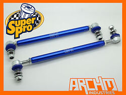 VW TIGUAN 5N FWD 2007-ON FRONT SUPERPRO ADJUSTABLE SWAY BAR LINK KIT
