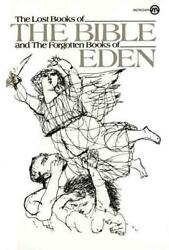 Lost Books Of The Bible And The Forgotten Books Of Eden - Platt, Rutherford H./