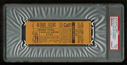 Psa 9 Mark Fidrych Pitched Game 1976 Unused Detroit Tiger Baseball Ticket 29may
