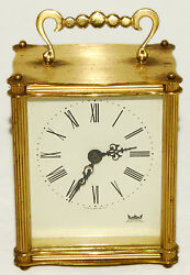 Smiths Astral - Gold - 4 - Battery Powered Clock - Vintage