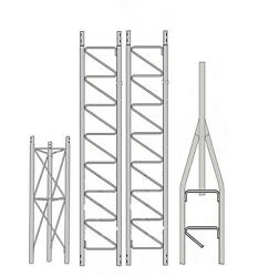 ROHN 25SS030 25G Series 30' Self Supporting Tower Kit
