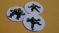 Pre Cut One Inch Bottle Cap Images Hulk Comic Book Marvel Free Shipping