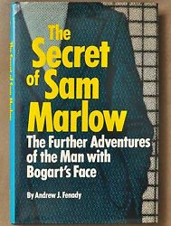1980 The Secret Of Sam Marlow First Edition Signed By Andrew J. Fenady