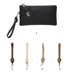 Durable Leather Replacement Wrist Strap for Clutch Wristlet Purse Key Chain