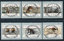 1994 Koalas And Kangaroos Cps St Peters 2000 - Cto St Peters Stamp And Coin Show