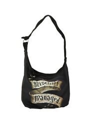 Harry Potter Mischief Managed Marauders Map Hobo Tote Bag Shoulder Crossbody New