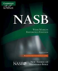 Wide-margin Reference Bible-nasb New American Standard Bible Updated Nasb By