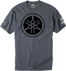 Factory Effex Licensed Yamaha Tuning Fork T-Shirt Charcoal Mens All Sizes $23.00