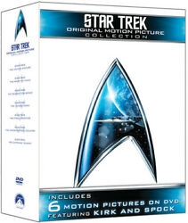 Star Trek The Original Motion Picture Collection [new Dvd] Boxed Set