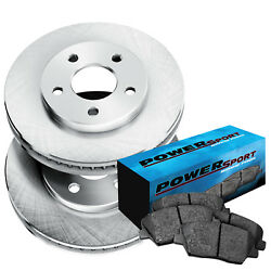 Brake Rotors [Front Kit] *OE FACTORY REPLACEMENT* + CERAMIC PADS BS10513