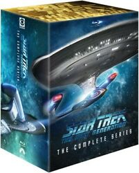 Star Trek The Next Generation The Complete Series [new Blu-ray] Oversize Item