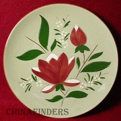 Stangl China Magnolia Pattern Dinner Plate - 10-1/8